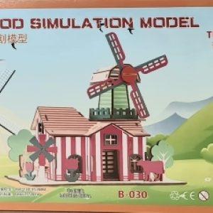 3D Puzzle - Farm House