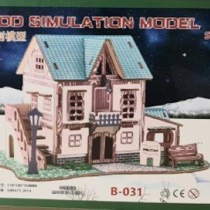 3D Puzzle - Hotel