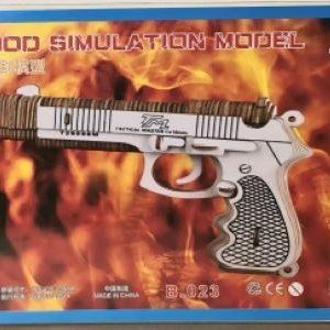 3D Puzzle - Pistol