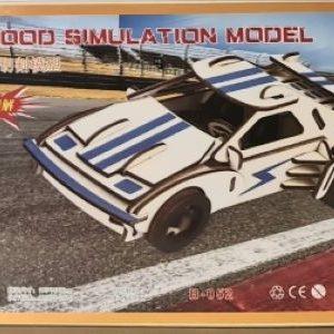 3D Puzzle - Racing Car